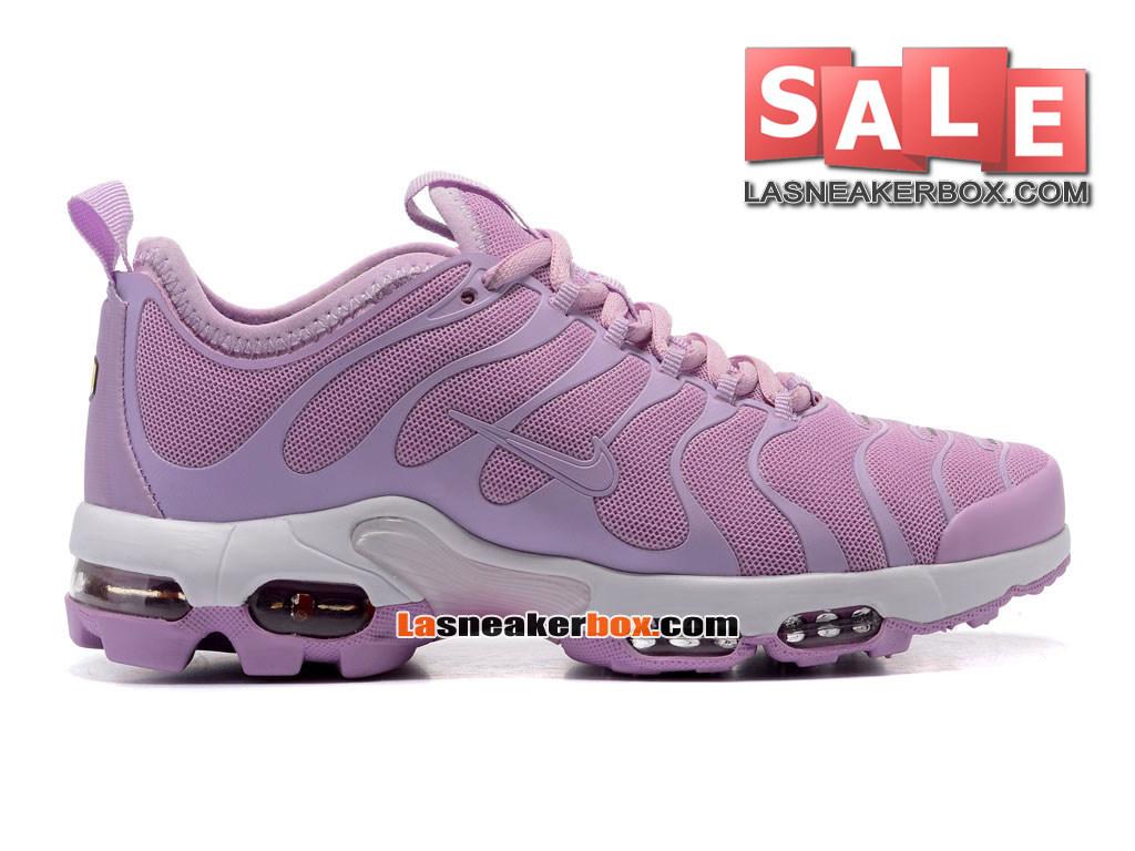 nike wmns air max tn plus chaussures de course blanc rose