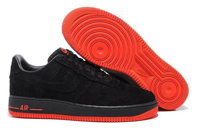 air force 1 rouge et noire